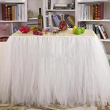 Jupe tour de Table en Tulle Déco Mariage pour Mariage Anniversaire