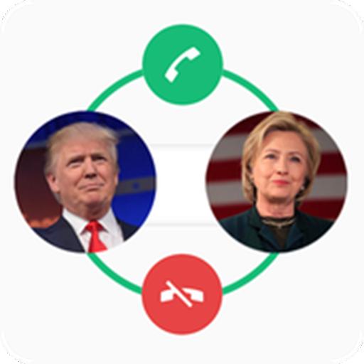 Donald Trump or Hillary Clinton Calling Prank