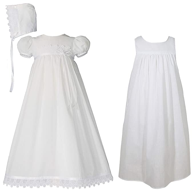 Amazon.com: Little Things Mean A Lot - Vestido para bautizo ...