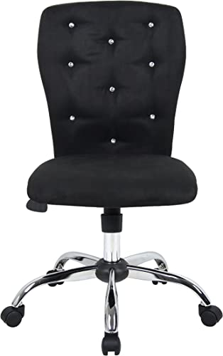 Boss Office Products Tiffany Modern Office Chair in Black