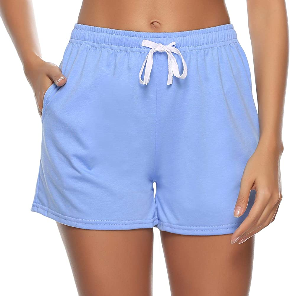 Sykooria Pantalones Cortos Deportivos para Mujer Pantalones de ...