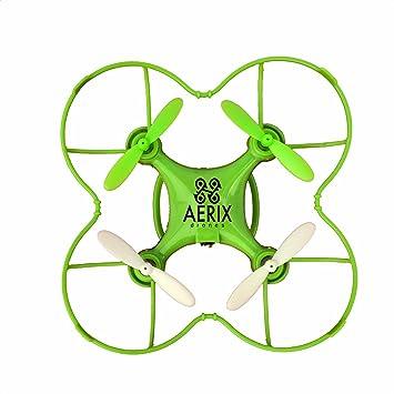 Aerix Begin-grn Nano Drone para Principiantes: Amazon.es: Juguetes ...