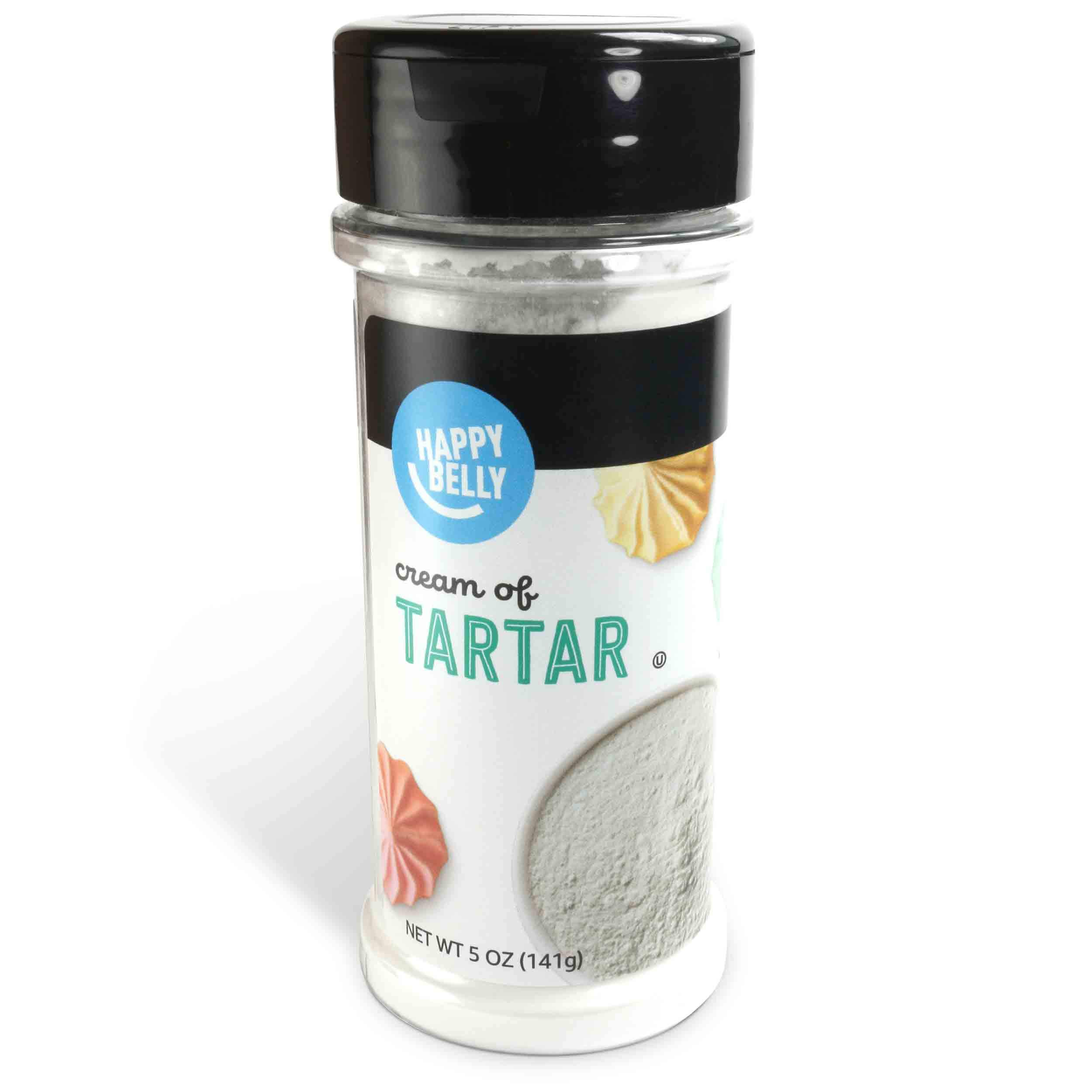 Amazon Brand - Happy Belly Cream of Tartar, 5 Ounces