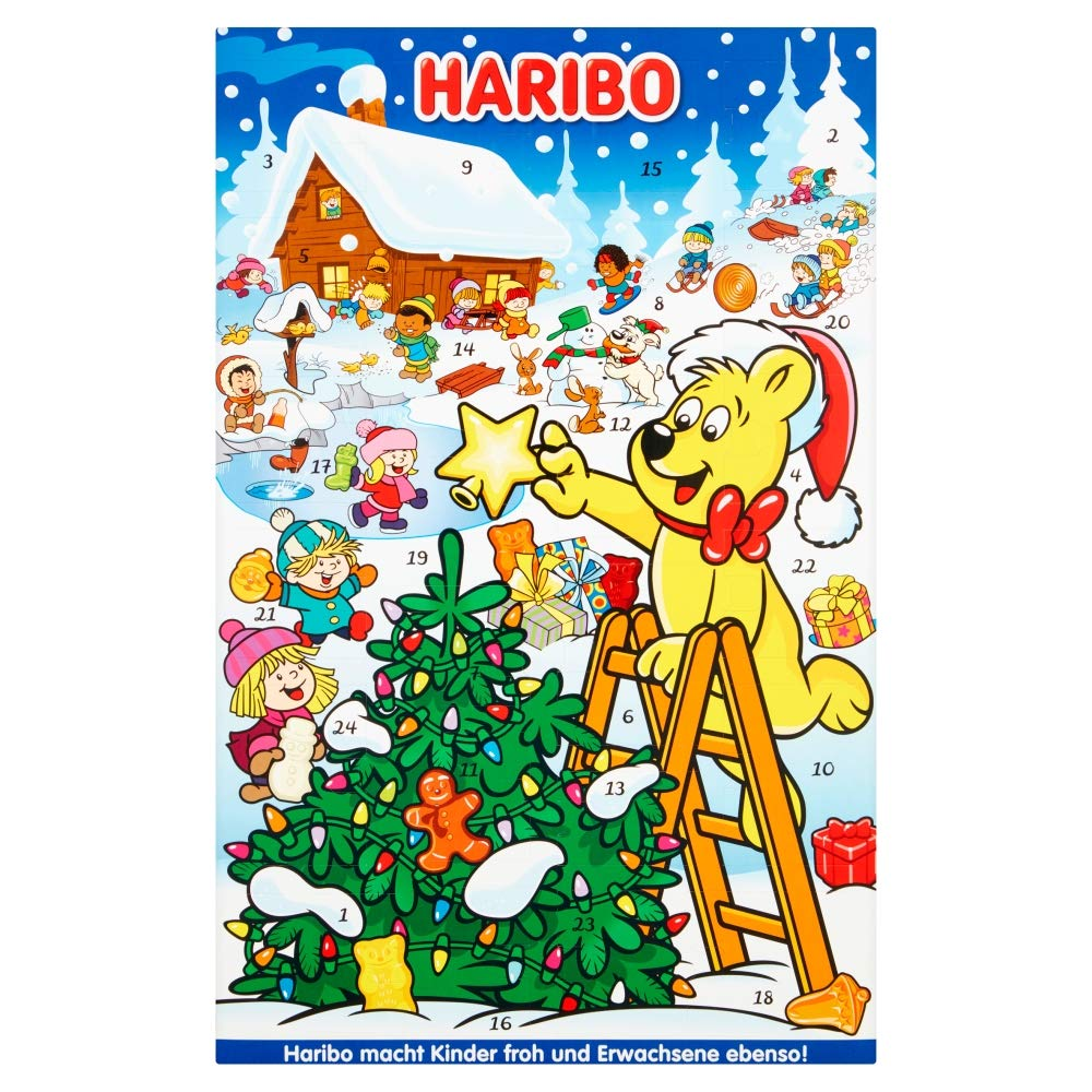Advent calendar haribo 300g
