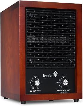 Ivation Purifier Generator Ionizer Deodorizer