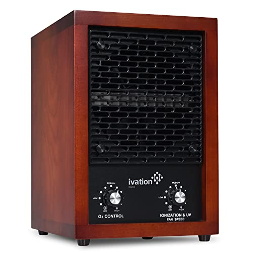 Ivation 5-in-1 HEPA Air Purifier Ozone Generator