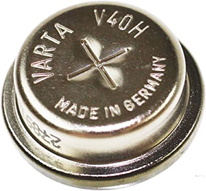 Original Knopfzellenakku Für Varta V40h Mit Nimh 1 2v Elektronik