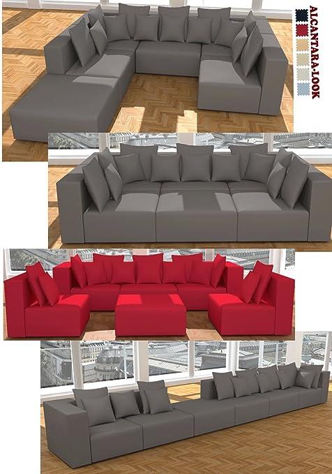 Vienna International Furniture 6 Luxusstile 14 Kissen In 6 Farben Alcantara Blick