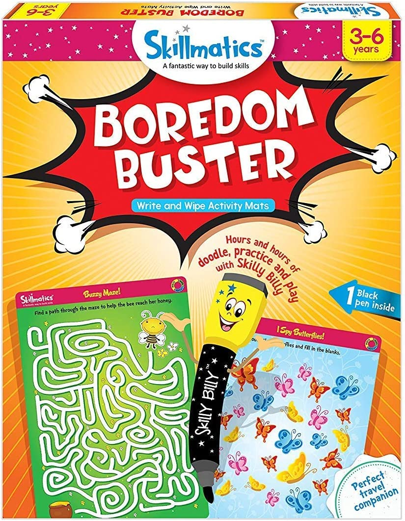 Boredom Buster Erasable and Reusable Activity Mats