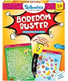 Skillmatics Educational Game: Boredom Buster (3-6 Years) | Erasable and Reusable Activity Mats