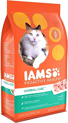 IAMS Proactive Health Hairball Care Adult Dry Cat Food 3.5 lb 2 pack