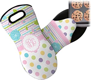 RNK Shops Girly Girl Neoprene Oven Mitt (Personalized)