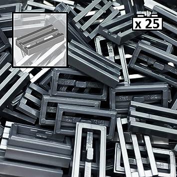 Dark Blue Blue Dark 4 x lego 2431 Plate Smooth Flat Tile 1x4 New New