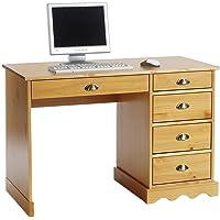 IDIMEX Schreibtisch Bürotisch Colette, Mehrere Farben, Landhausstil