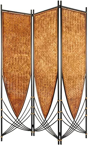 Oriental Furniture 6 ft. Tall Tropical Philippine Room Divider