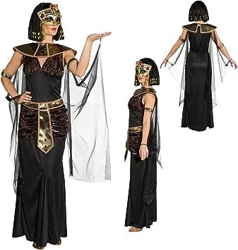 NET TOYS Disfraz Cleopatra Atuendo egipcia S 36/38 Caracterización ...