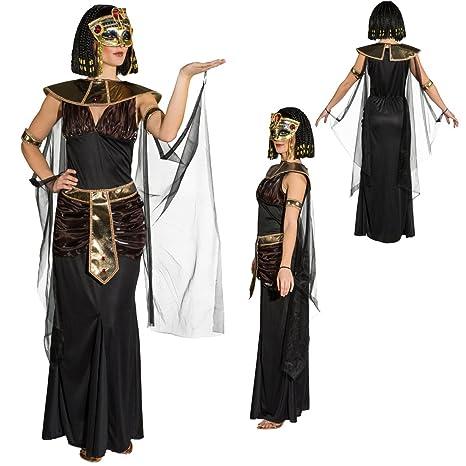 NET TOYS Costume da Cleopatra Abito da Donna egiziana M 44 46 - Vestito da 393c8eed58d4