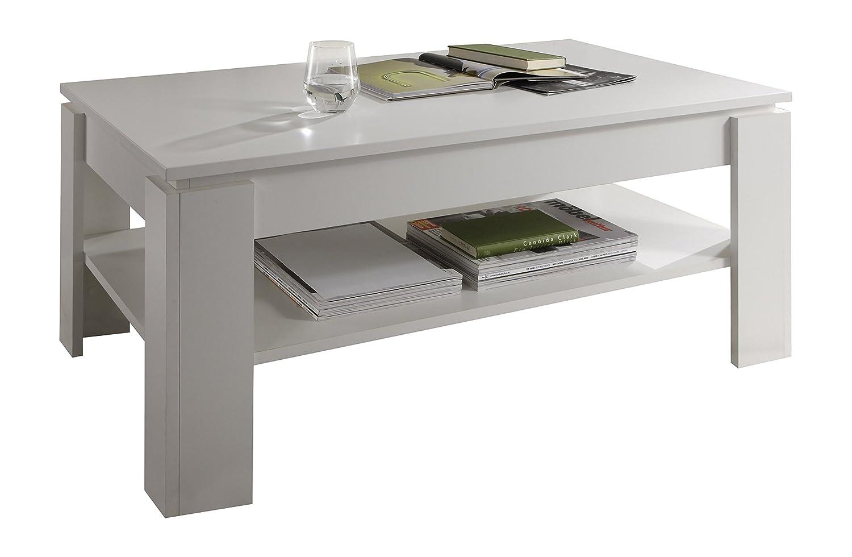 Maisonnerie 1100-112-01 Table Basse Blanc LxLxH 110 x 65 x 47 cm - mélaminé