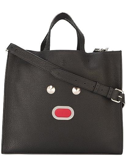 Fendi Men s 7Va3909qhf0gxn-Mcf Black Leather Tote  Amazon.co.uk  Clothing f48f0d1774105