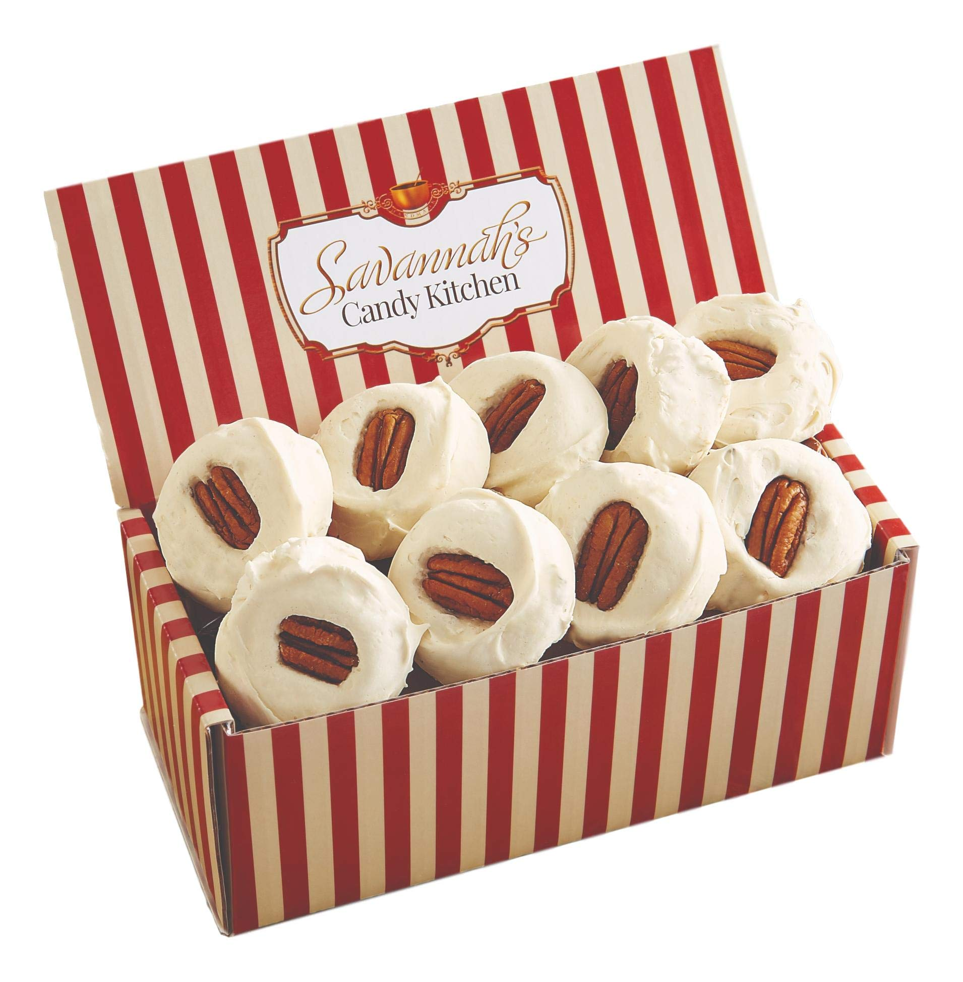 Savannah's Candy Kitchen | Handmade Small Batch Southern Pecan Divinity | Savannah's Signature Candy Gift Boxes (18) by Savannah's Candy Kitchen