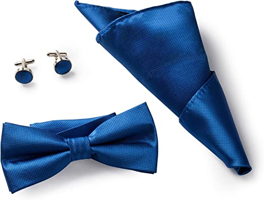 Royal Blue Bow Ties Pre-Tied and Banded