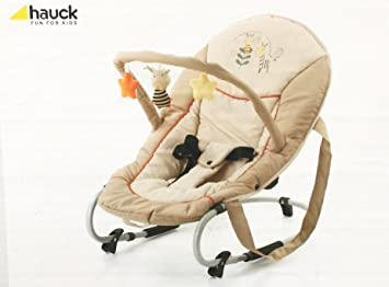 594b7227ea6 Hauck Bungee Deluxe Baby Rockers Bouncer (Brown   Beig) Zoo  Amazon ...