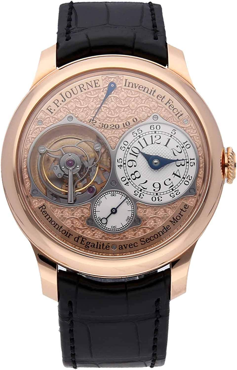 F.P. Journe Souverain Mechanical (Hand-Winding) Rose Dial Mens Watch Tourbillon Souverain (Certified Pre-Owned)