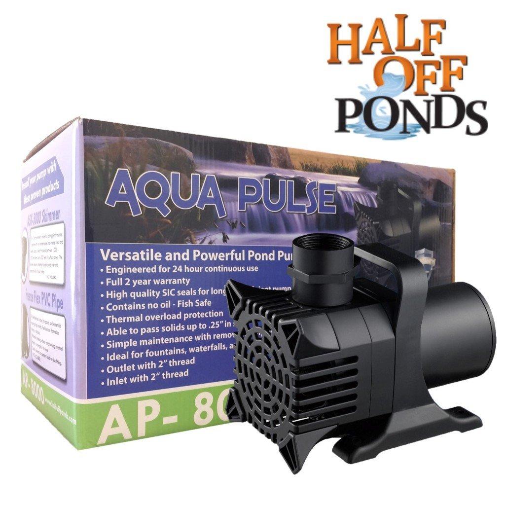 Amazoncom  Aqua Pulse  GPH Hybrid Drive Submersible Pump - Amazon pond pumps