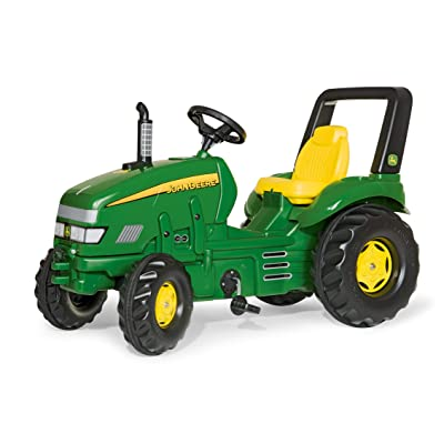 rolly toys John Deere X-Trac Pedal Tractor with Front and Rear Hitches for Additional Accessories, Youth Ages 3+: Toys & Games [5Bkhe0900747]