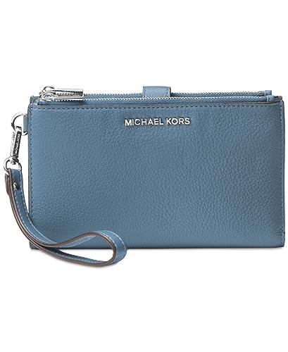 3121cd8ec99a30 Amazon.com: MICHAEL Michael Kors Adele Double Zip iPhone 7 Plus Wristlet:  Shoes