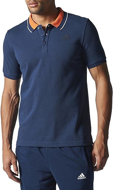 Adidas ESS Polo - Camiseta Polo para Hombre, color Azul ...