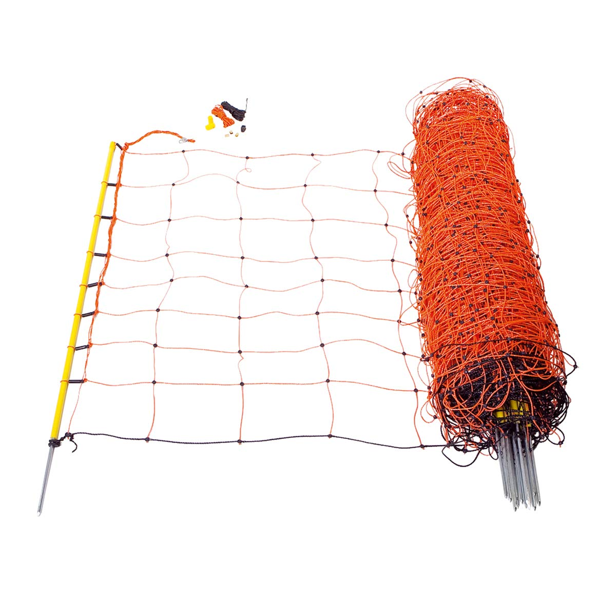 Doblit Electrified Netting For Sheep Goats Pigs etc Netting Single Pole 14 pegs 50m 90cm High