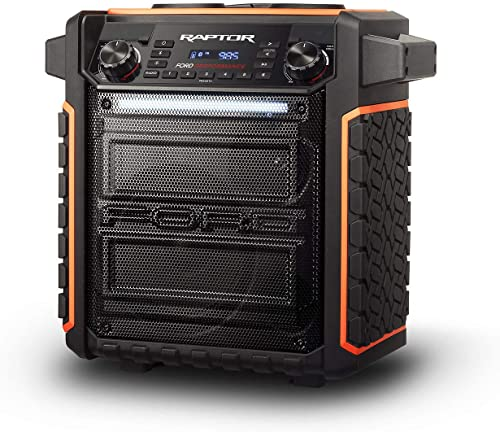 ION Audio Raptor | Ultra-Portable 100-watt Wireless Water-Resistant Speaker