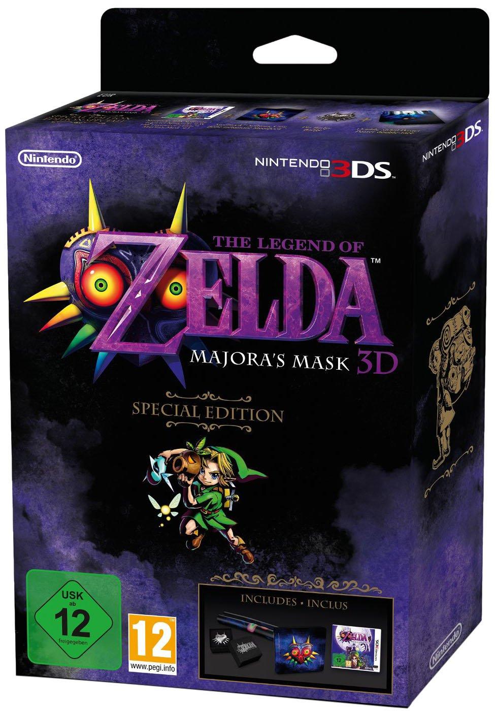 The Legend of Zelda: Majora's Mask 3D Special Edition [PAL Version / UK]
