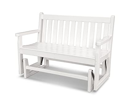 Amazon.com : POLYWOOD TGG48WH Traditional Garden 48\