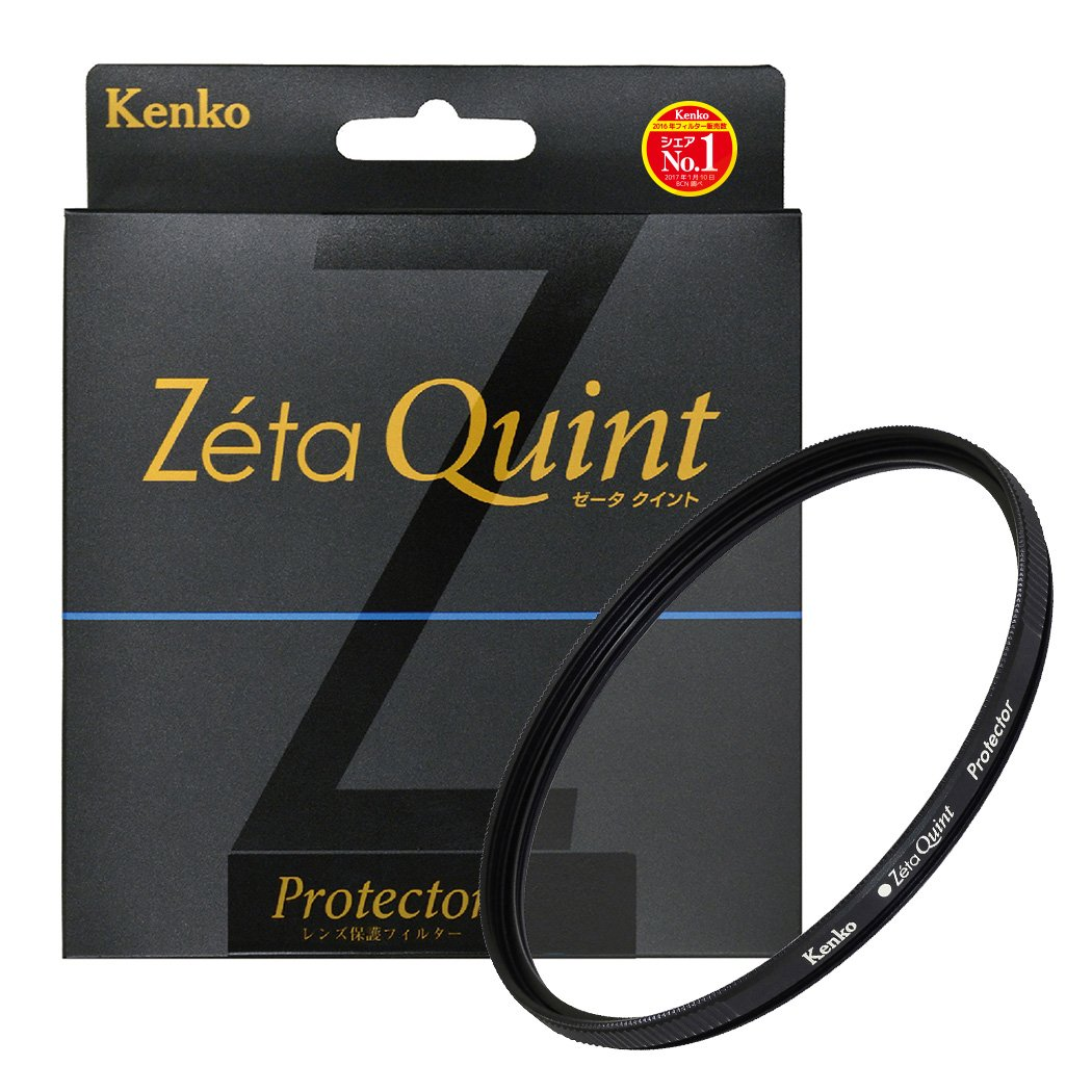 Kenko 67mm Zeta Quint Protector - Zr-coated, Slim Frame, Tempered Glass - Finest Camera Lens Filters by Kenko