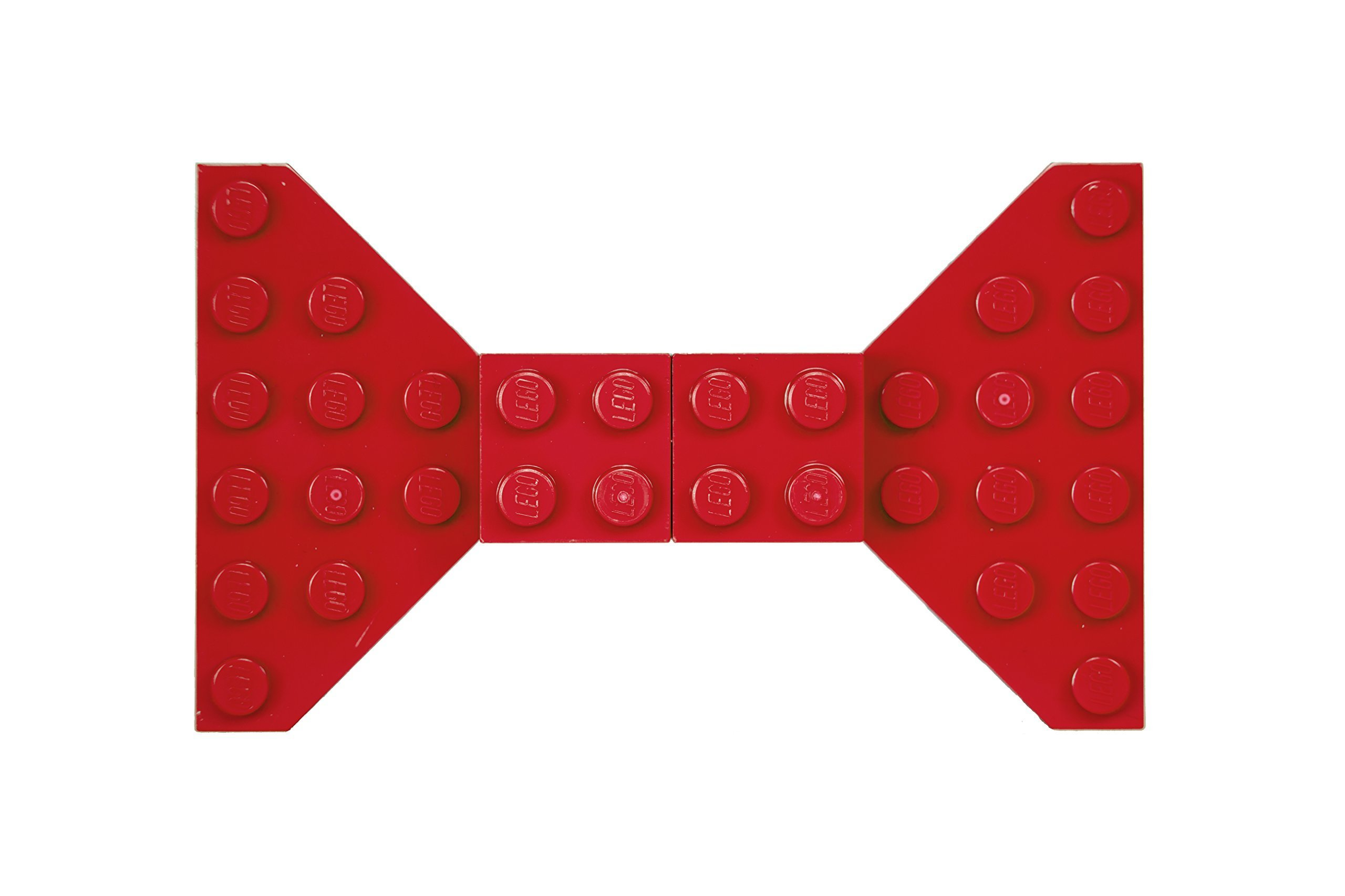 Red Lego Bow Tie Brooch/Hair Clip