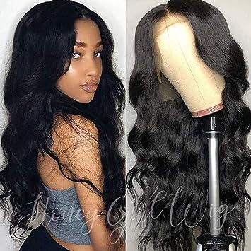 Amazon.com : Full Lace Human Hair Wigs Pre