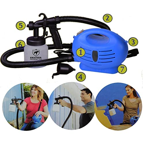 Anva Paint Zoom Electric Portable Spray Painting Machine( Blue)