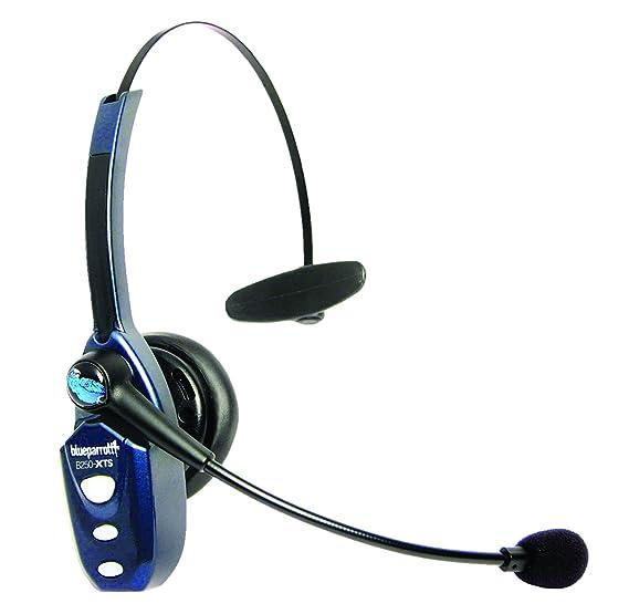 VXi B250-XTS Monaural Head-Band Black,Blue - Auriculares con micrófono (