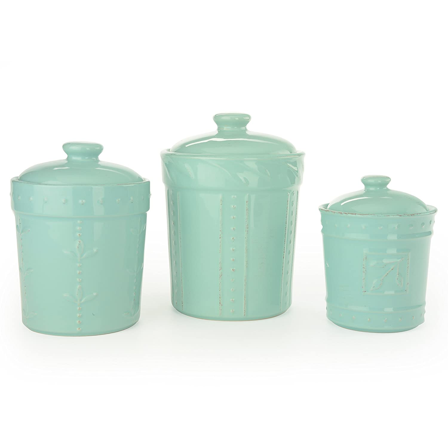 Amazon.com: Signature Housewares Sorrento Collection Canisters (Set ...