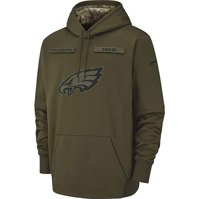 sports shoes 1f53b a0939 Nike Men's Philadelphia Eagles Therma Fit Pullover STS Hoodie
