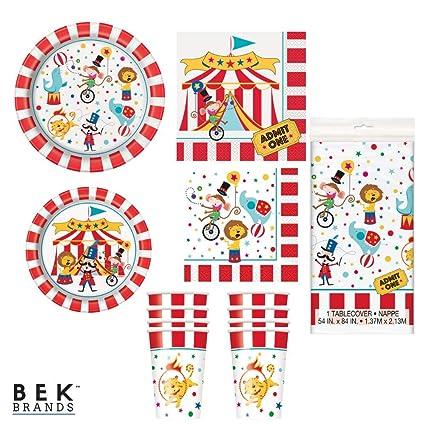 Amazon.com: Bek Brands – Juego de platos de fiesta de ...