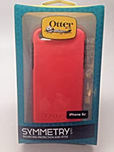 Otterbox Symmetry Series Case for Apple iPhone 5c - Retail Packaging - Candy Pink