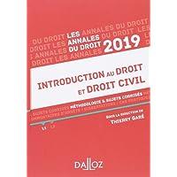 Introduction au droit et droit civil 2019. Méthodologie & sujets corrigés