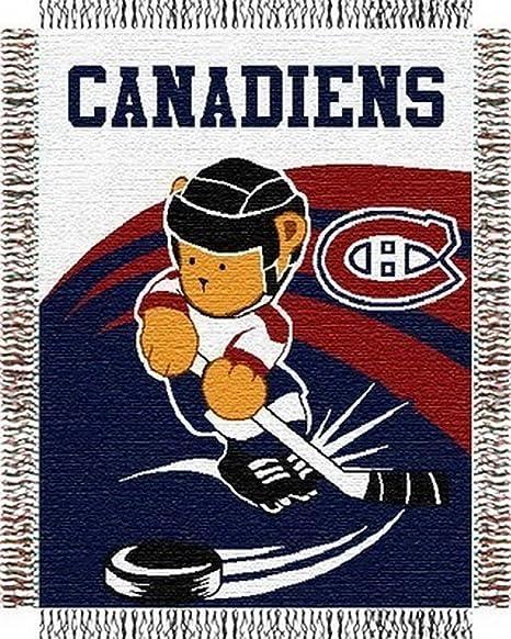 Amazon.com: Northwest Montreal Canadiens Triple 36 x 46 bebé ...