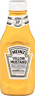 product image for Heinz Yellow Mustard (12.75 oz Bottles, Pack of 16)