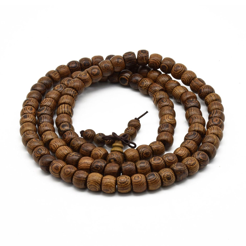 本場アフリカタガヤサン 天然タガヤサン数珠念珠ブレスレット 男性用女性用 経典腕輪 ネックレス 装飾