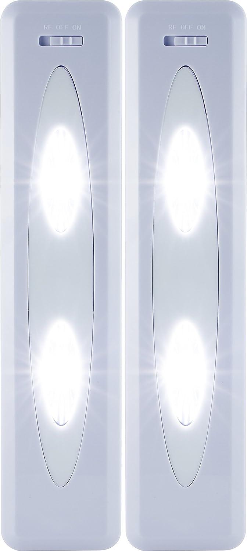 Amazon.com: GE Wireless Remote Control LED Light Bars, 2-Pack ...