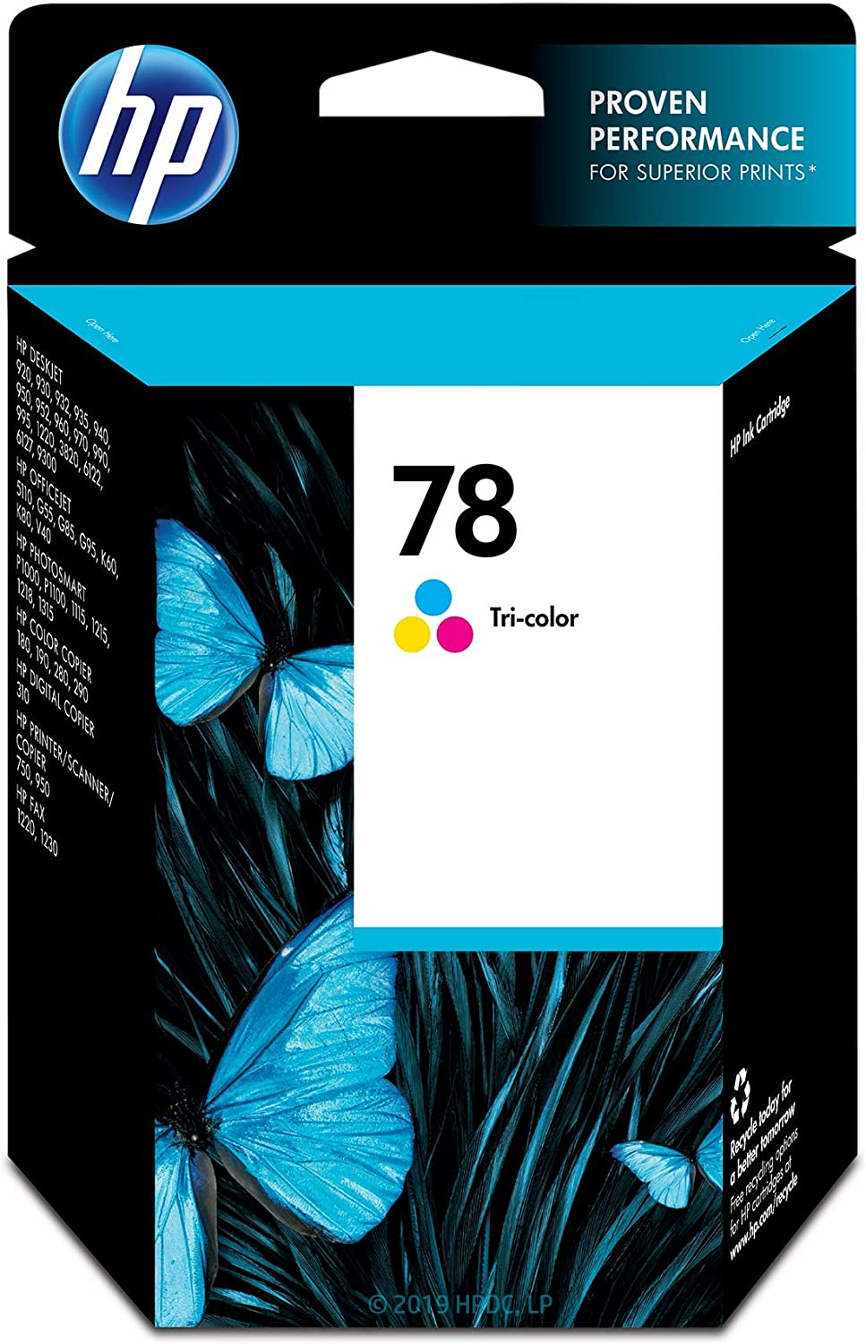 HP 78 | Ink Cartridge | Tri-color | C6578DN | DISCONTINUED BY MANUFACTURER